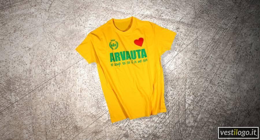 T-shirt stampata per pro loco ed eventi