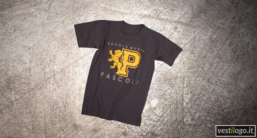 Tshirt manica corta con stampa vintage