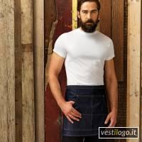 Stampe e Ricami Personalizzati su Grembiule Stile Barman Corto Modello Jeans Premier