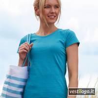Stampe e Ricami Personalizzati su T-shirt Manica Corta Economica Donna Fruit Colorata