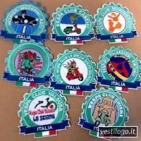 Stampe e Ricami Personalizzati su Toppe Ricamate Formato Ufficiale Vespa Club D'italia