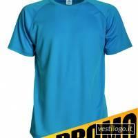 Stampe e Ricami Personalizzati su Tshirt Promozione Sportiva Colorata